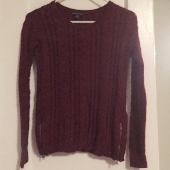 American Eagle Outfitters Sweaters American Eagle Maroon Red